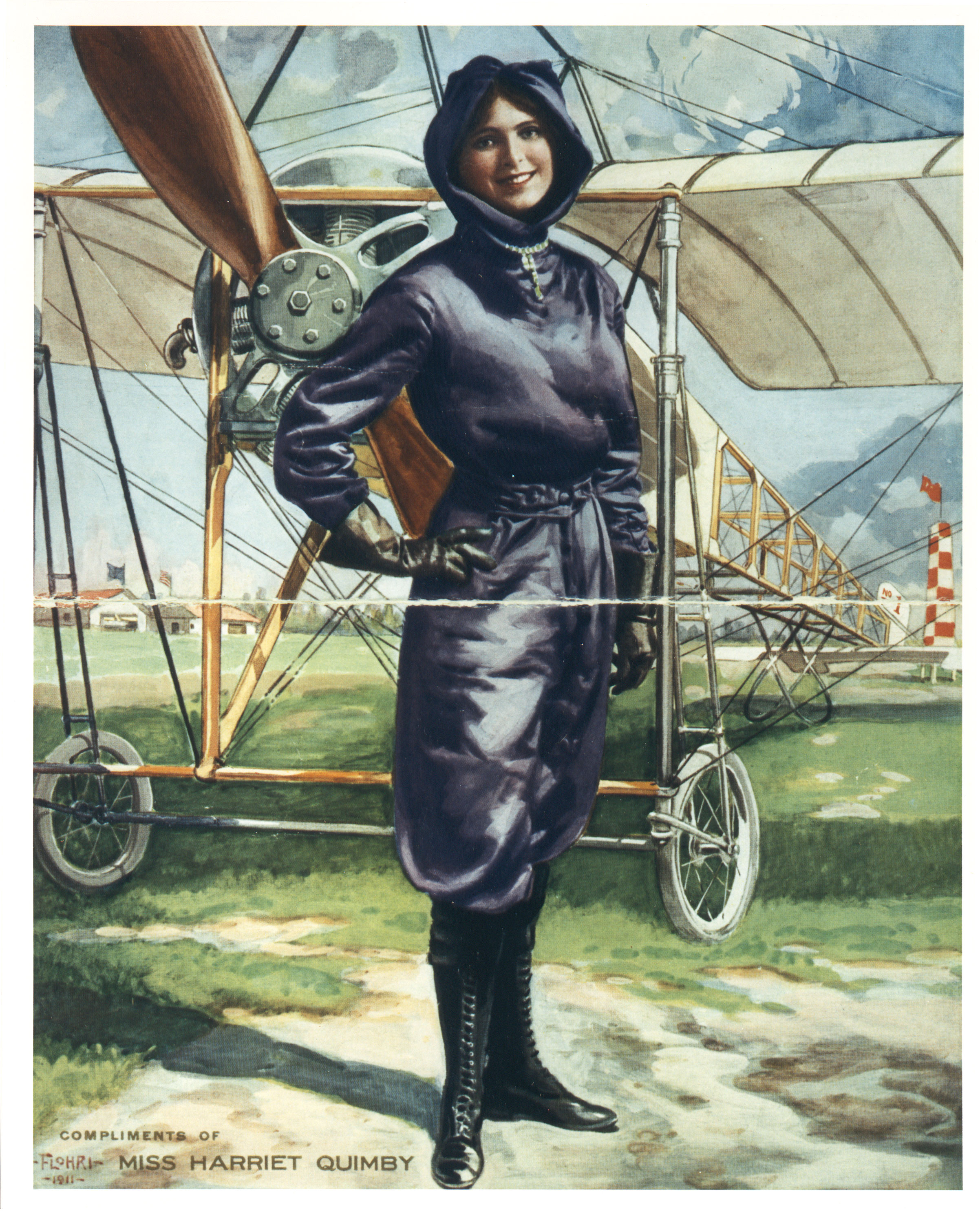 Today in history… first woman to fly English Channel