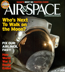 Cover of Air and Space Magazine