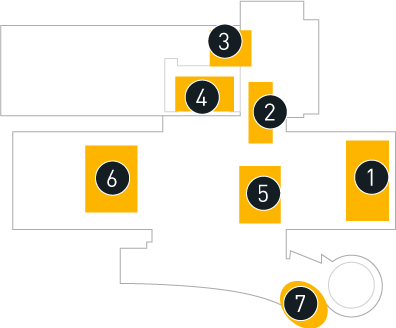 Special Events Hazy Floor plan