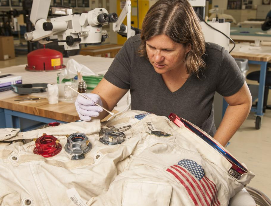 Conserving Neil Armstrong's Spacesuit
