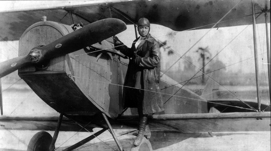 Celebrating 100 Years Since Bessie Coleman Became the First African American Woman to Receive a Pilot's License
