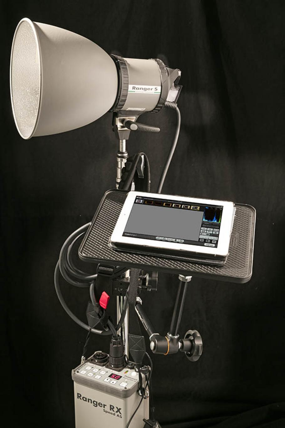 Photograph of photography equipment.