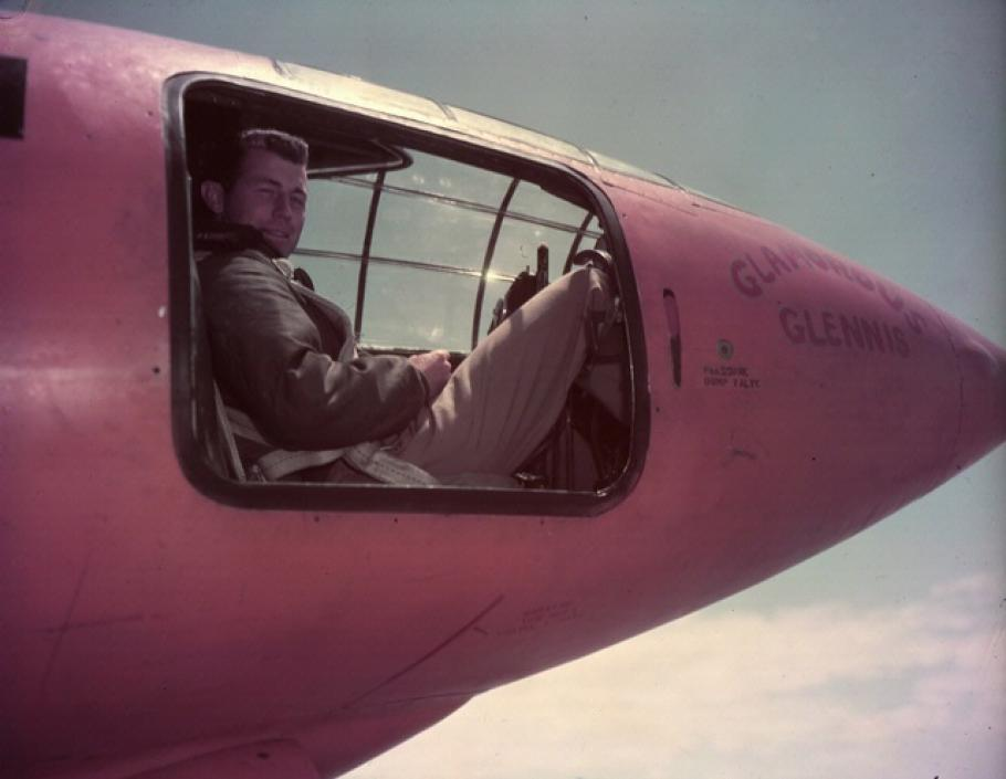 Chuck Yeager in Bell X-1