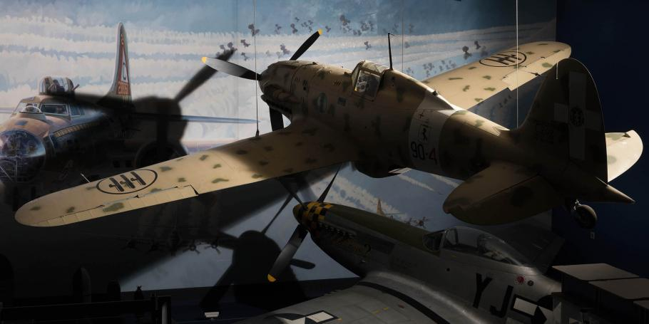 Aircraft given edge lighting