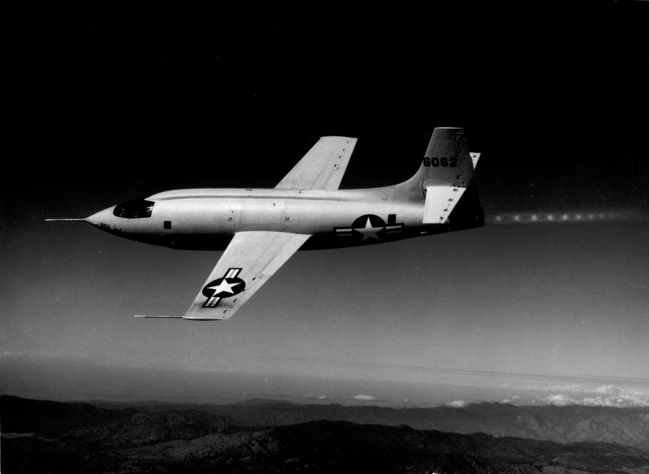 Bell X-1 in Flight