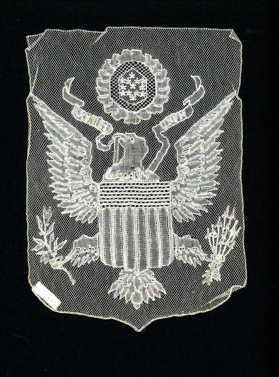 Lace with eagle.