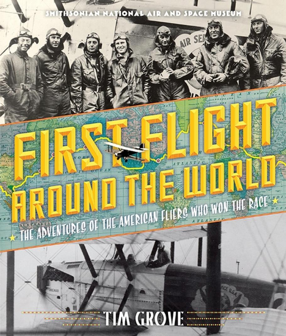 Image of the book, First Flight Around the World