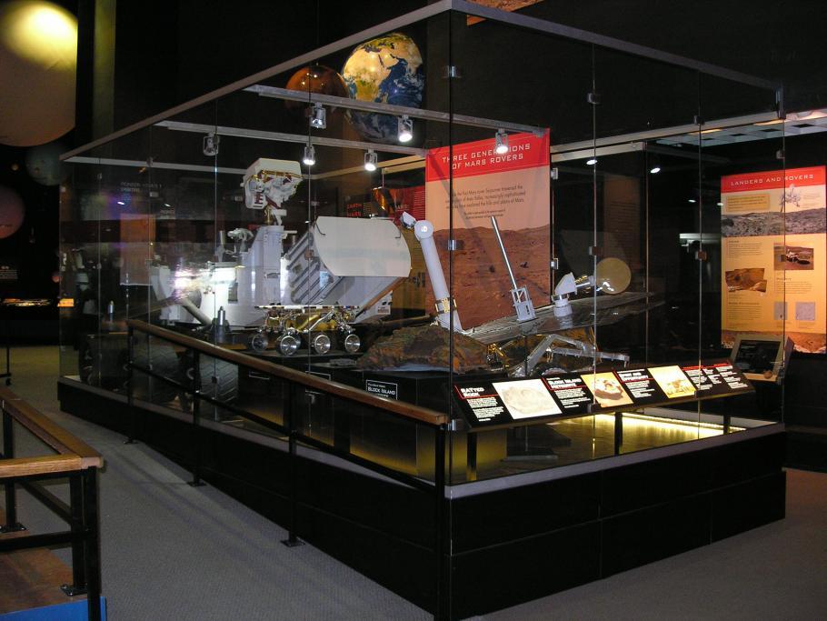 Mars Rovers on Display
