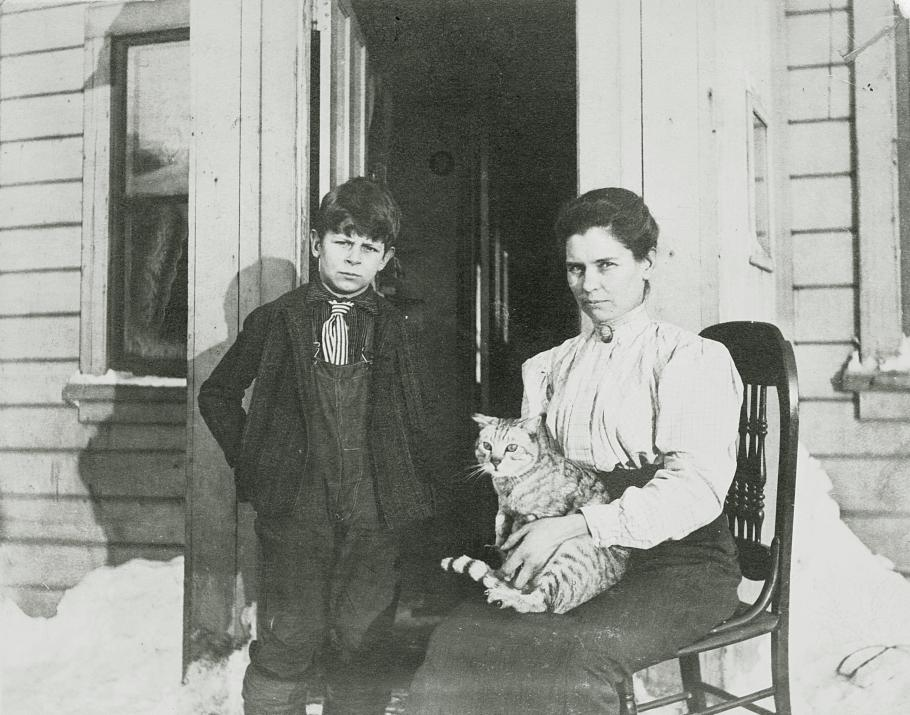 Young Doolittle with his Mother