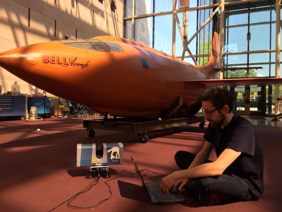 3D Scanning Bell X-1