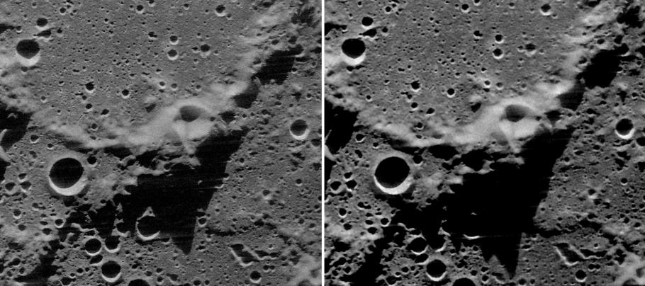 Radar of Moon's North Pole