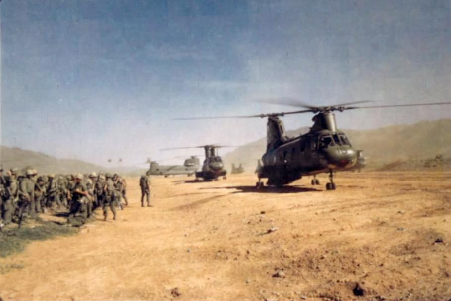 CH-46  Support Operation Scotland II