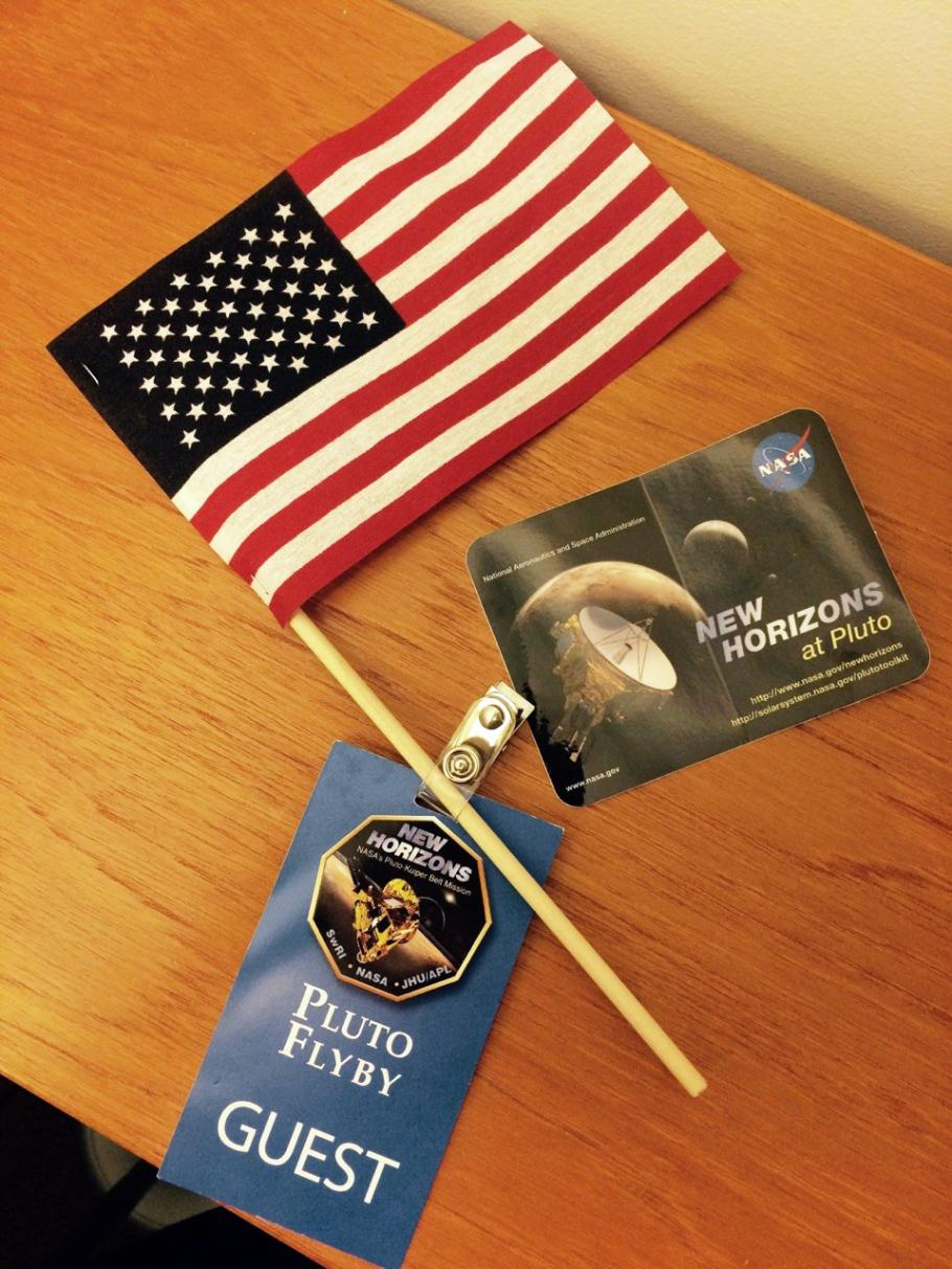 New Horizons Flyby Handouts