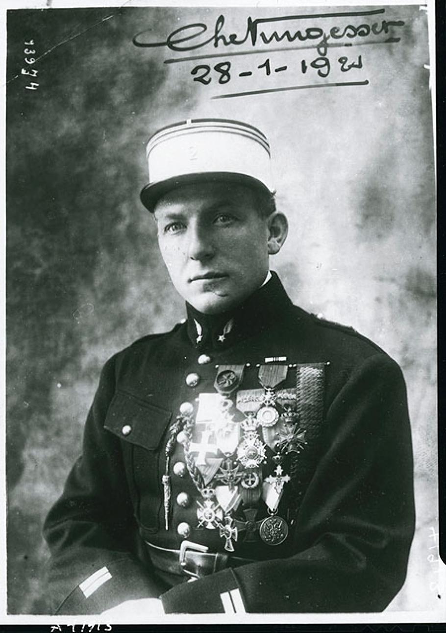 Portrait of Charles Nungesser