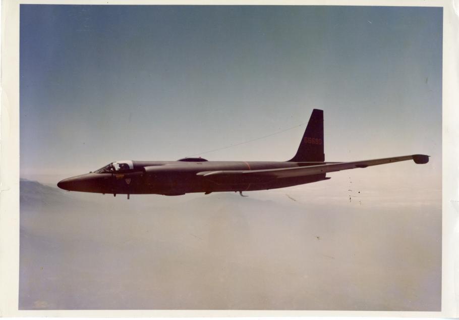 Lockheed U-2B in Flight