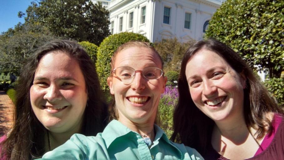 Educator Selfie at the the White House Astronomy Night