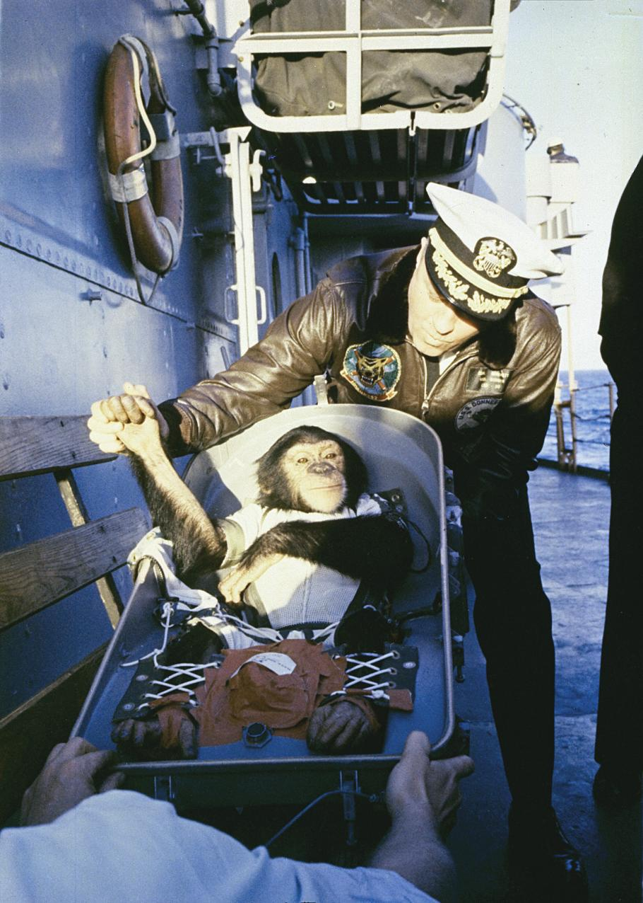 Recovering Ham the Astrochimp