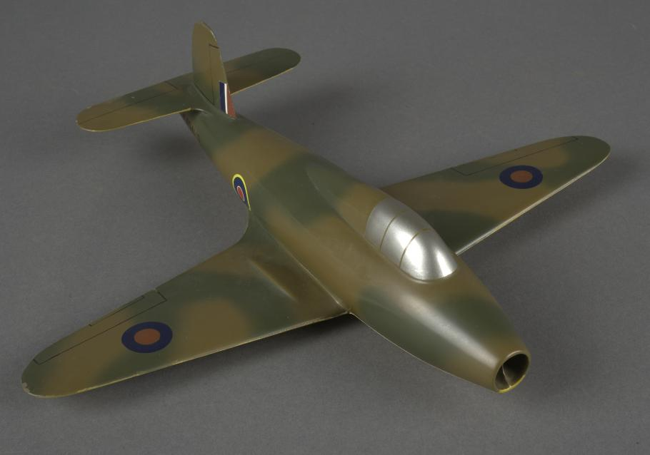 Model of the First Allied Jet Aircraft