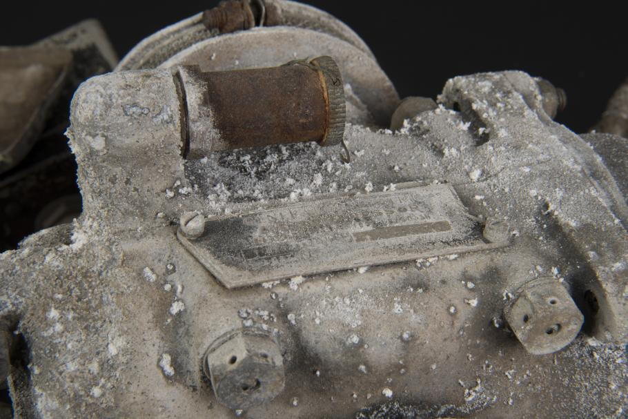 Magnesium and Ferrous Corrosion on General Electric Compressor