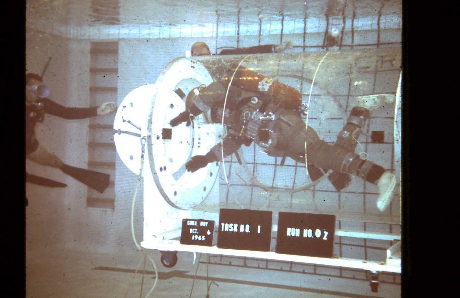 NASA Langley Airlock Mockup Test