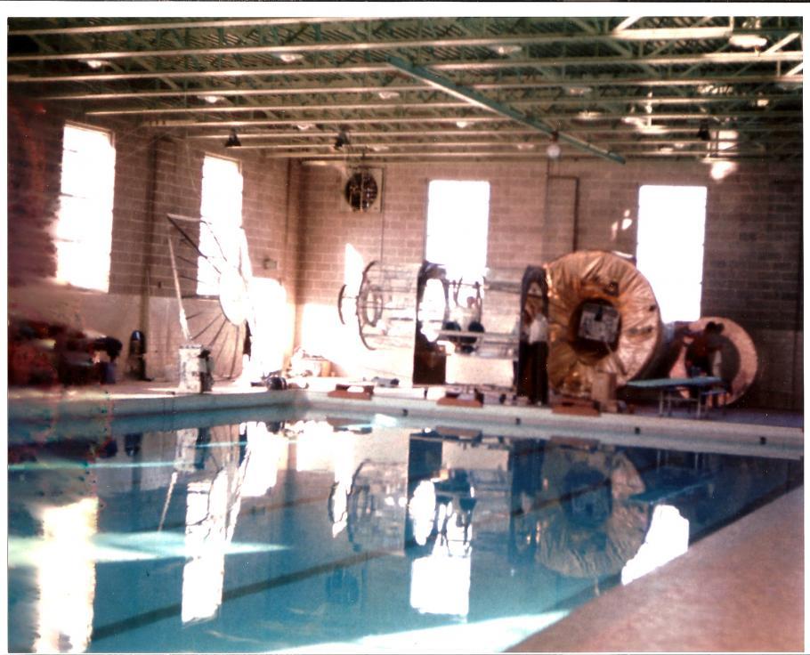 McDonogh Pool with Gemini Equipment
