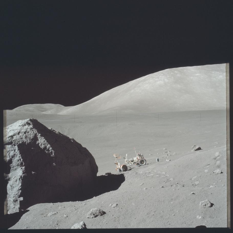 Apollo 17 Lunar Roving
