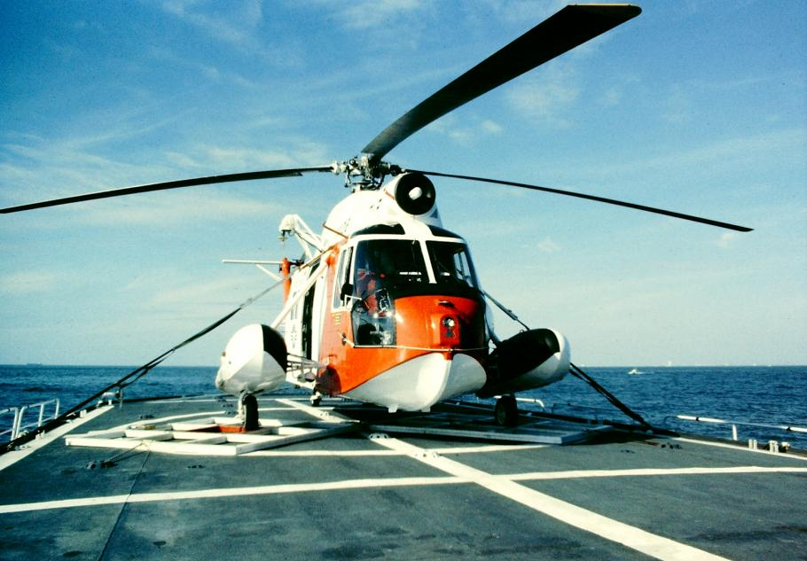 HH-52A During Deployment