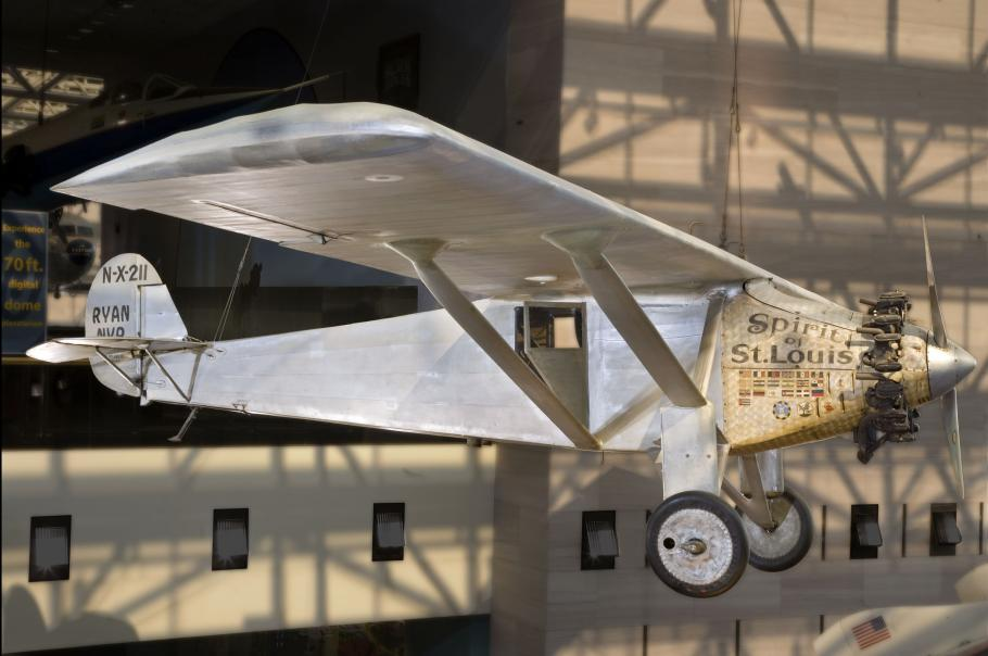 Ryan NYP <em>Spirit of St. Louis</em> at the National Air and Space Museum