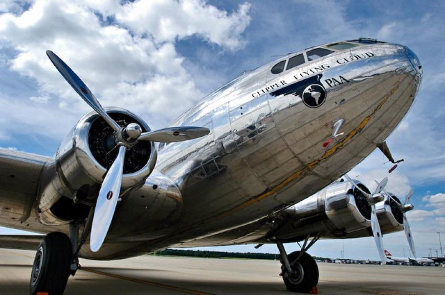 """Boeing 307 Stratoliner \""""Clipper Flying Cloud"""""""