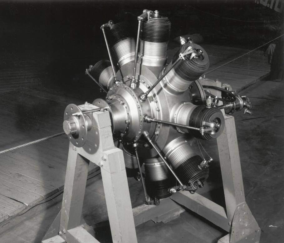 Gnome Rotary Engine