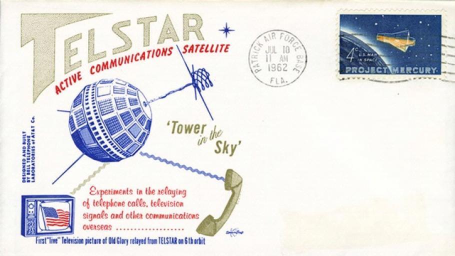 Telstar Postal Cover