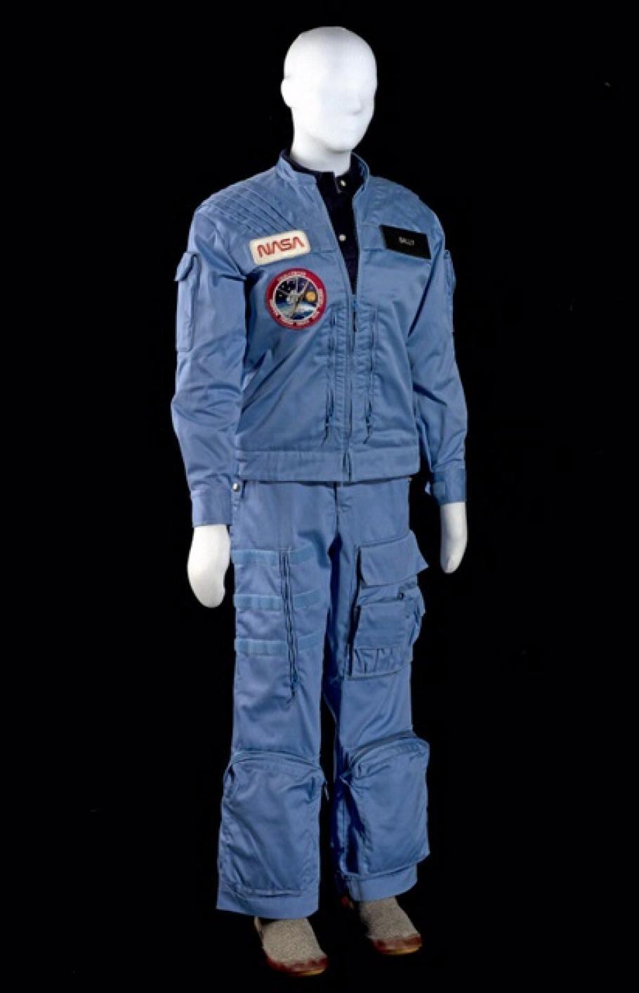 Sally Ride's in-flight suit