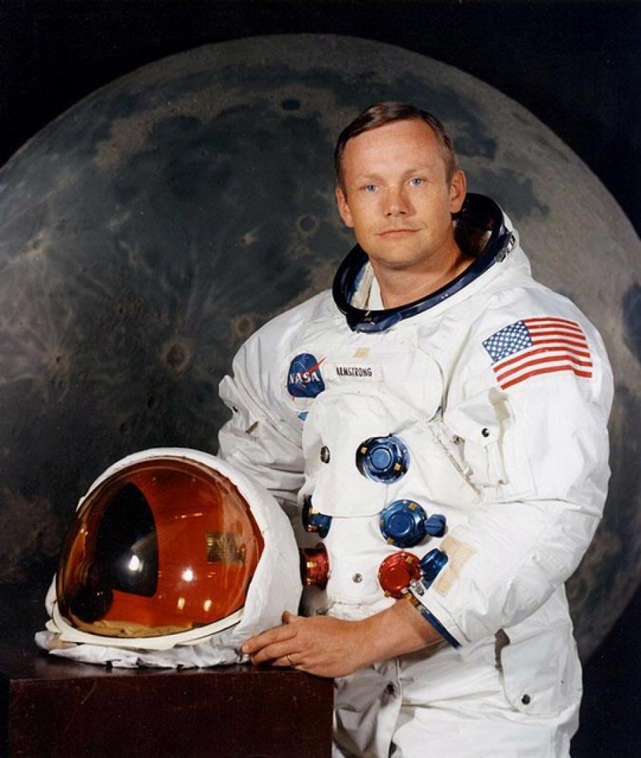 Neil A. Armstrong, Commander of Apollo 11