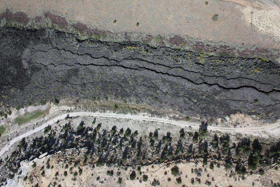 McCartys lava flow in central New Mexico