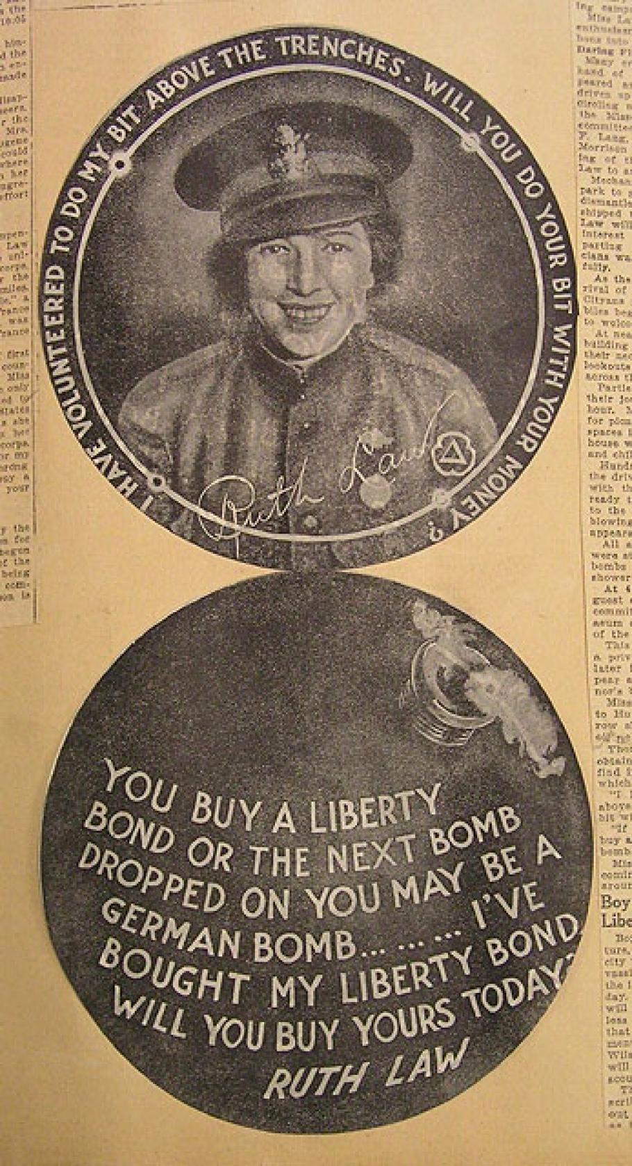 Ruth Law Liberty Bond