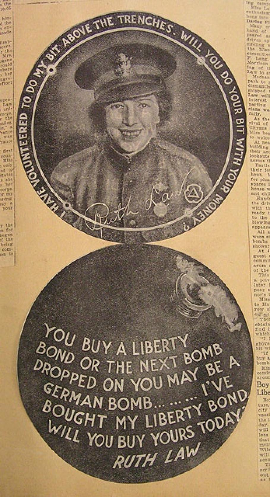 Ruth Law Liberty Bond