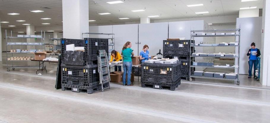 Storage Facilities at the Steven F. Udvar-Hazy Center