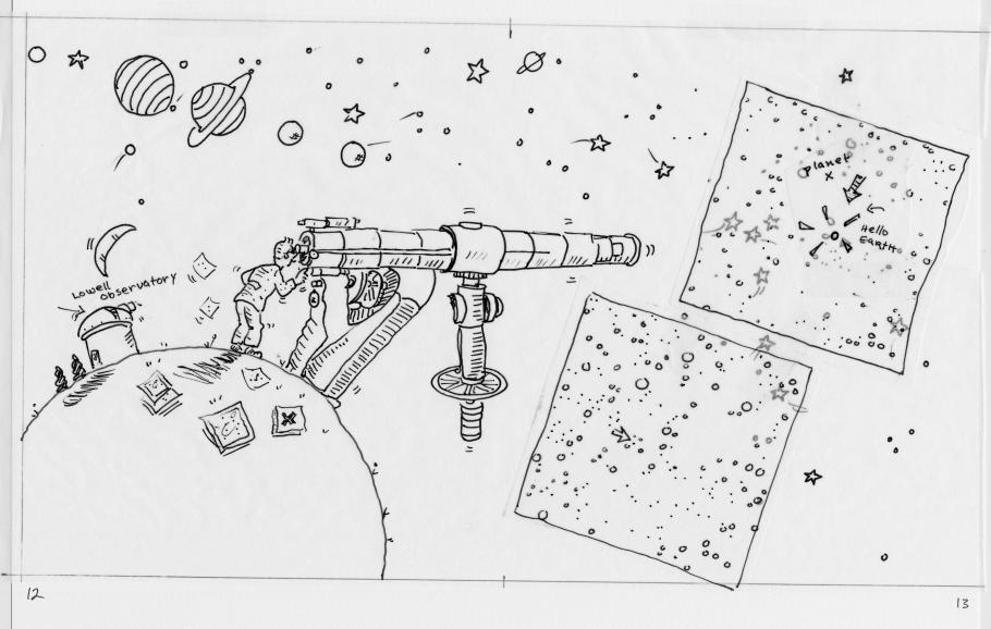 Illustration for Pluto's Secret