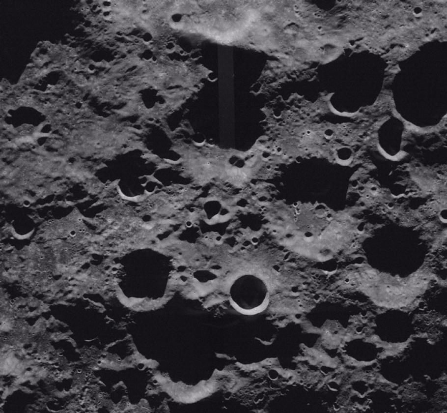 The Moon's South Polar Area