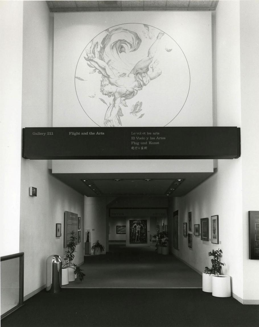 Flight in the Arts Gallery