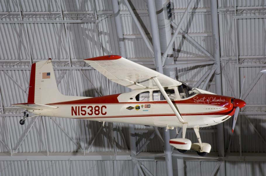 """Cessna C-180 \""""Spirit of Columbus"""""""