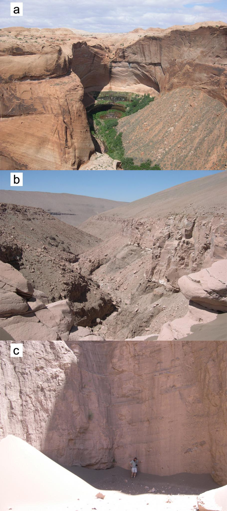 Comparison of Theater-Headed Valleys