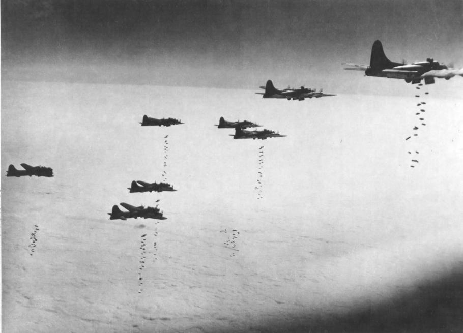 B-17s in Formation