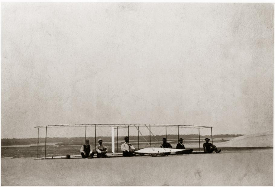 1902 Wright Glider on the Ground