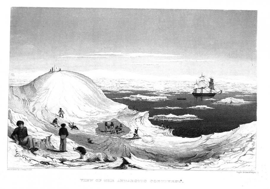 Charles Wilkes' Drawing