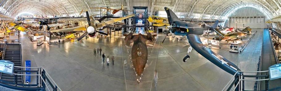 Boeing Aviation Hangar Overlook