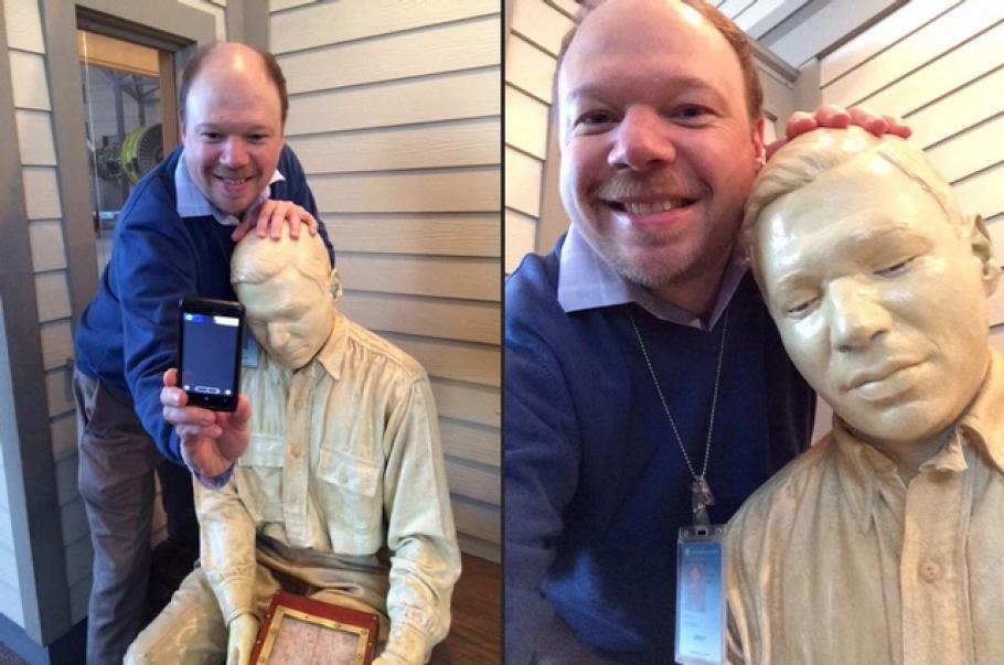 Museum Meta Selfie