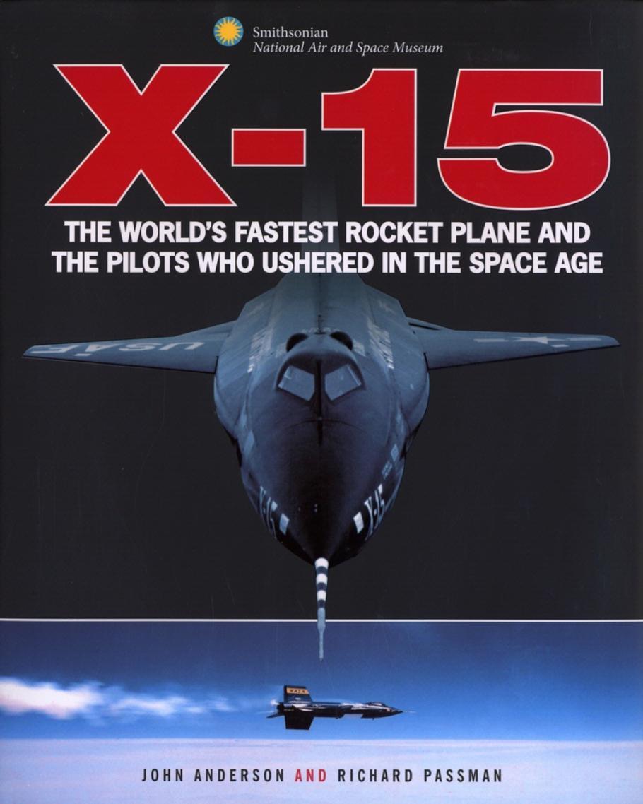 Book cover: X-15