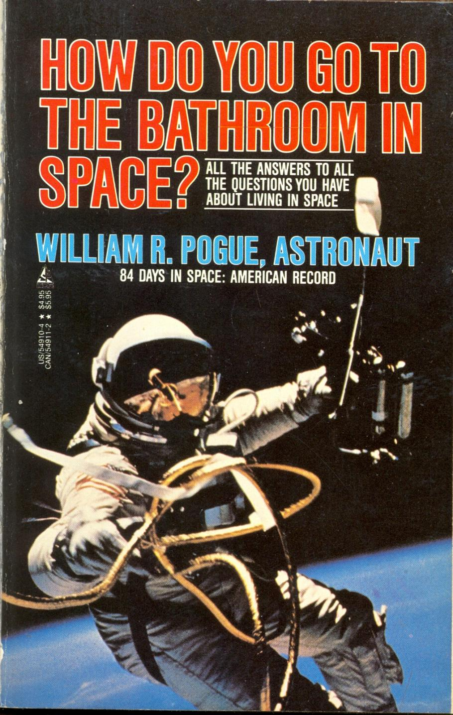 Book cover, How do you Go to the Bathroom in Space?