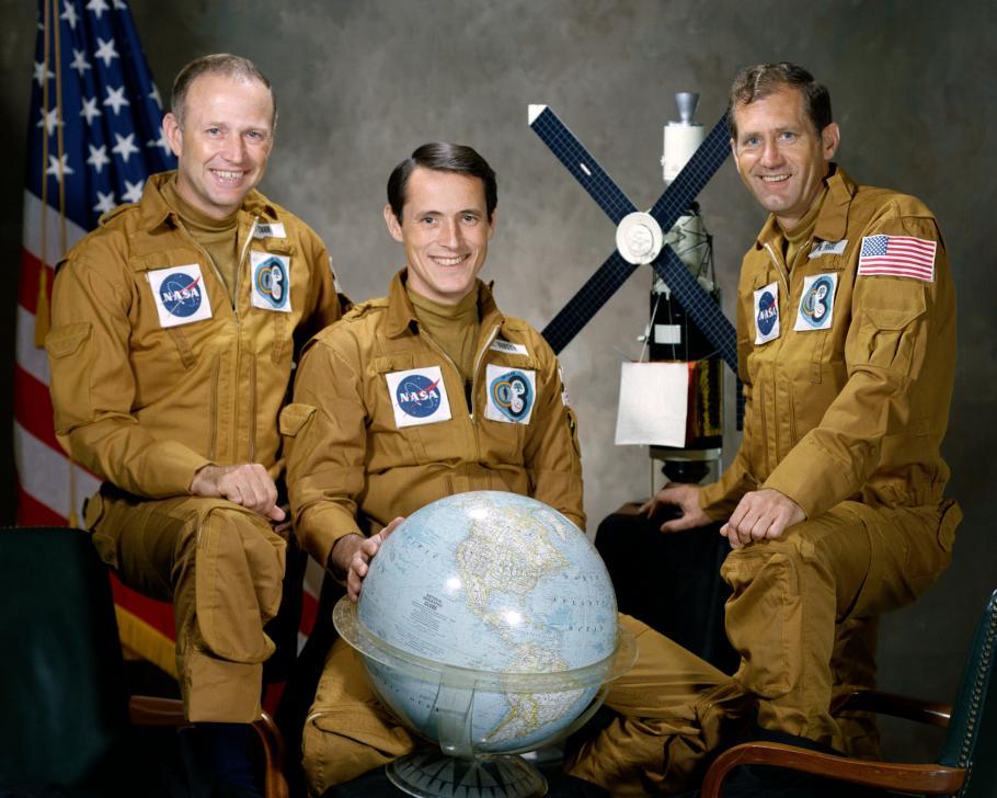 Third Skylab Crew